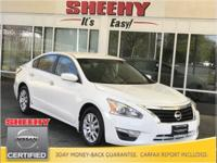 New Price! 2015 Nissan Altima 2.5 S CARFAX One-Owner.