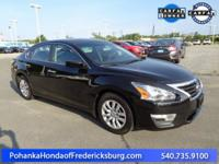 This 2015 Altima is a one owner vehicle with a clean