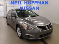 New Price! Gun Metallic 2015 Nissan Altima 2.5 S FWD