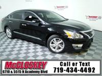 Luxurious 2015 Nissan Altima 2.5 w/ Heated Leather