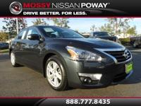 Back-Up Camera and Bluetooth. Altima 2.5 SL, Nissan
