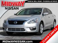 Just Reduced!2015 Nissan Altima 2.5 S Brilliant Silver