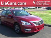 2015 Nissan Altima in Cayenne Red, Carfax Certified!, 1