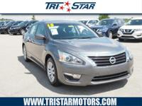 This 2015 Nissan Altima S is a great option for folks