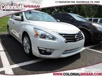 Step into the 2015 Nissan Altima! The safety you need