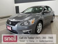 New Price! Altima 2.5 SL, 4D Sedan, 2.5L I4 DOHC 16V,