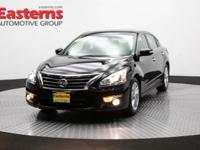 2015 4D Sedan Super Black 2015 Nissan Altima 2.5 SL FWD