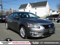 CARFAX One-Owner. Clean CARFAX. Charcoal 2015 Nissan