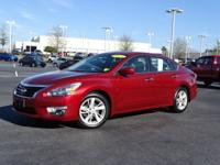 New Price! Clean CARFAX. Cayenne Red 2015 Nissan Altima