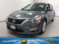 Gun Metallic 2015 Nissan Altima 2.5 SV FWD CVT with