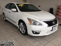 Recent Arrival! 2015 Nissan Altima in Pearl White, CVT