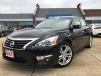 2015 Nissan Altima Black CVT with Xtronic. Awards: *