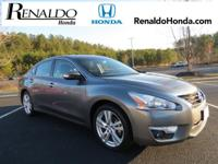 Just Reduced! 2015 Nissan Altima 3.5 SL Gray CVT with
