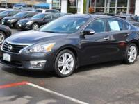 CARFAX One-Owner. Gun Metallic 2015 Nissan Altima 3.5