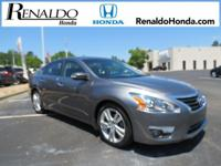 New Price! 2015 Nissan Altima 3.5 SV Gun Metallic CVT