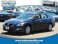 Our 1-Owner 2015 Nissan Altima 2.5 S Sedan is displayed