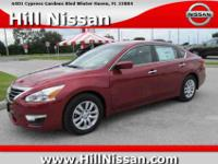 This red 2015 Nissan Altima S might be just the 4 door