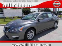 This Gun Metallic 2015 Nissan Altima S might be just
