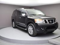 Recent Arrival! Armada Platinum, 4WD, Magnetic Black,