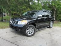 Options:  2015 Nissan Armada Platinum|This 2015 Nissan