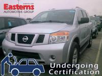 Options:  2015 Nissan Armada Platinum|Silver|2015