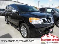 This Nissan Armada will have plenty of room to safely