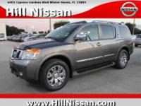 This gray 2015 Nissan Armada Platinum might be just the