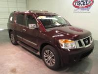 2015 Nissan Armada SL ** This Armada SL sports leather