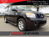 Look at this 2015 Nissan Armada SV. Its Automatic