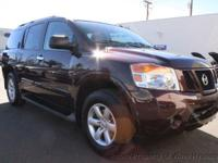 This 2015 Nissan Armada 4dr SV Sport Utility 4D