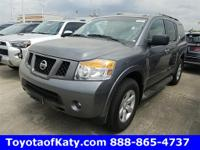 Options:  2015 Nissan Armada Sv|Gray|Thank For Shopping
