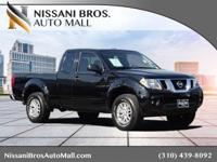 Clean CARFAX. Black 2015 Nissan Frontier SV RWD 5-Speed