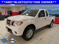 ONE OWNER. Frontier SV, 5-Speed Automatic with