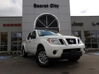 Clean CARFAX. 2015 Nissan Frontier SV RWD 5-Speed