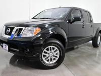 CARFAX One-Owner. Super Black 2015 Nissan Frontier SV