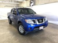 Clean CARFAX. Certified. Blue 2015 Nissan Frontier SV