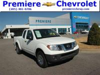 Options:  2015 Nissan Frontier S|White/|V4 2.5 L