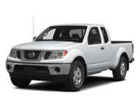 2015 White Nissan Frontier S EXCLUSIVE LIFETIME