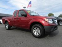 Red 2015 Nissan Frontier S I4 RWD 5-Speed Manual with
