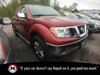 2015 Nissan Frontier 4WD Automatic 4.0L V6 4WD ABS