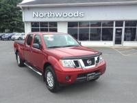 CARFAX One-Owner. Clean CARFAX. Lava Red 2015 Nissan