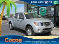 This 2015 Nissan Frontier SV in Silver features: Clean