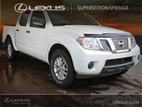 Clean CARFAX.  2015 Nissan Frontier SV 4.0L V6 DOHC