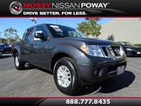 Nissan Certified. Crew Cab! Short Bed! This 2015