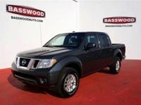 This 2015 Nissan Frontier SV features hill start assist