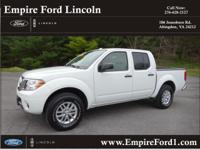 Options:  2015 Nissan Frontier Sv|4X4 Sv 4Dr Crew Cab 5