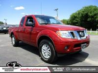 CARFAX One-Owner. Certified. Lava Red 2015 Nissan