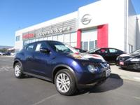 CARFAX One-Owner. Clean CARFAX. Cosmic Blue 2015 Nissan