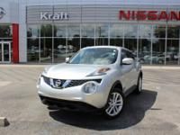 Brilliant Silver 2015 Nissan Juke S FWD CVT with