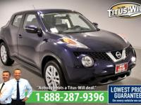 New Price!2015 Nissan Juke, Blue, Completely inspected